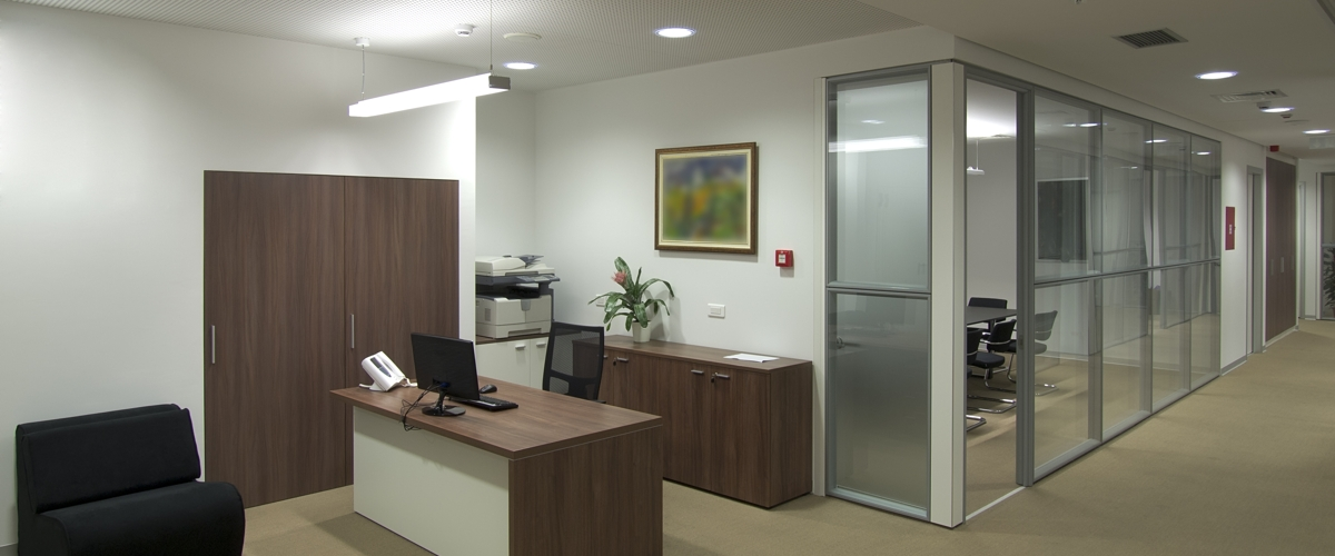Interior partition walls